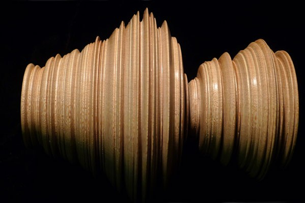 Beautiful Wooden Sculptures Created From New York Stock Exchange Data