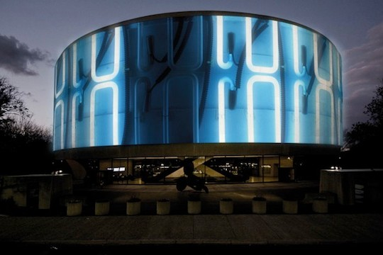 Doug Aitken's 360 Degree Video Projection In Washington DC