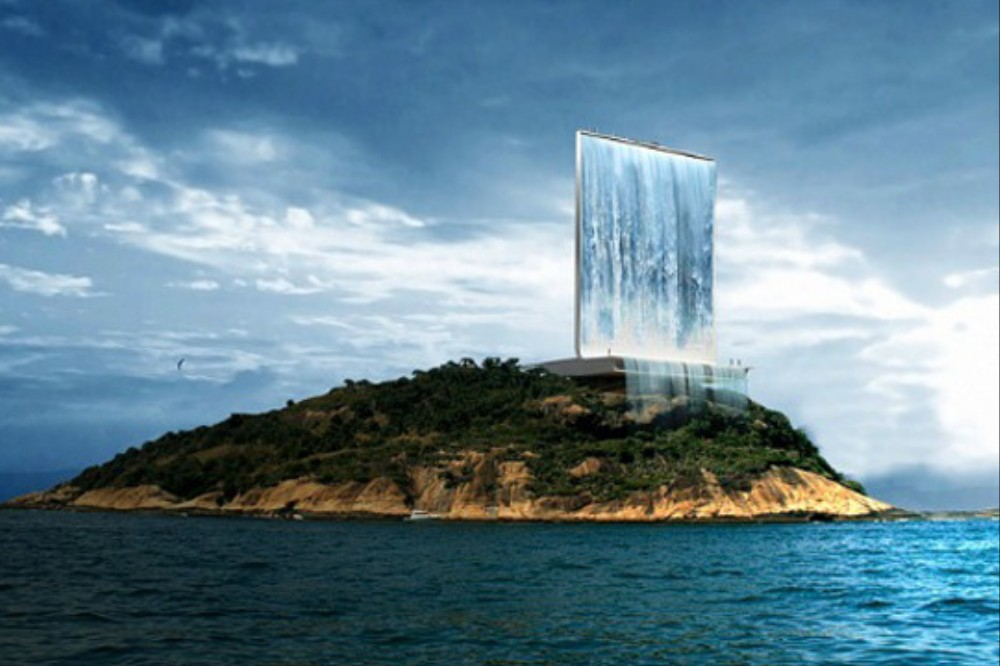 Artificial Waterfall Could Make 2016 The Greenest Olympic
