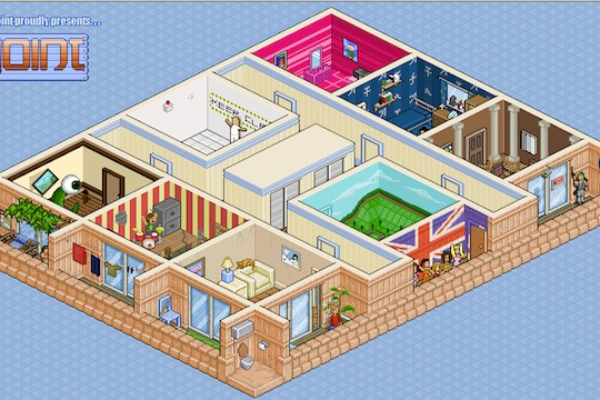 Build Your Imaginary Pixel Apartment At The Joint