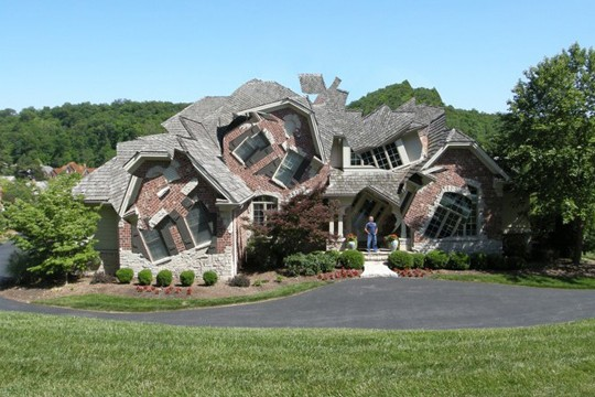 Michael Jantzen Deconstructs Buildings Into Fantastical Fragmentary Forms