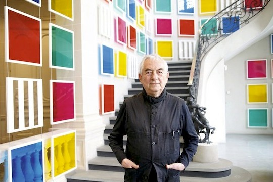 Daniel Buren Thinks Big, Sees The World Through Tinted Glass