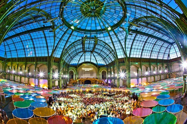 Jamie xx, Caribou, And Four Tet Rock A Psychedelically-Transformed Grand Palais