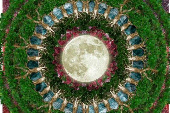 Incorporating Everyday Images Into The Mystical Mandala