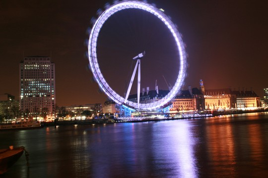 Sosolimited Use The London Eye To Communicate The Collective Consciousness Towards The Olympics