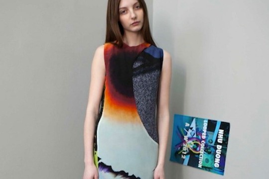 A Fall/Winter Collection Inspired By Glitch Art And Oddities Of Color And Shape