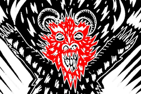 You'll Be Hypnotized By These Illustrated, Stereoscopic GIFs Of Devils And Angels