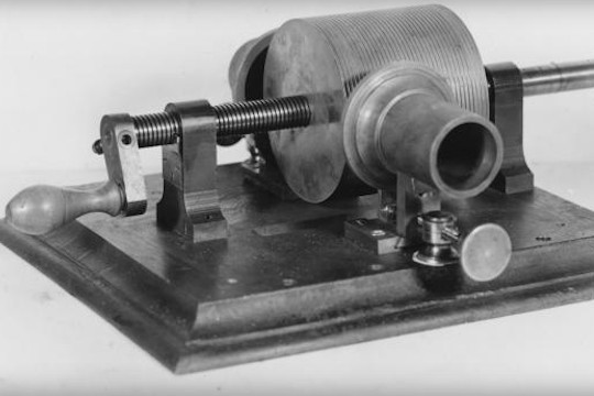 Hear The Oldest Known Recording Of Voice And Music, From 1878