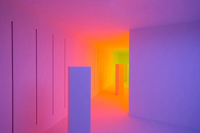 Color Becomes A Perception-Altering Substance In These Interactive Rooms