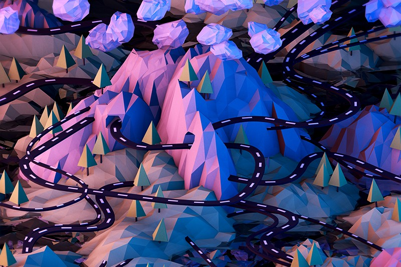Tim Reynolds' Low-Poly, Isometric Worlds Are A Fantastical Feast For The Eyes