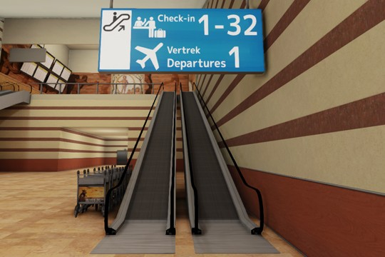 Leaving Is A Video Game Set In An Airport And Driven By Ambiguity