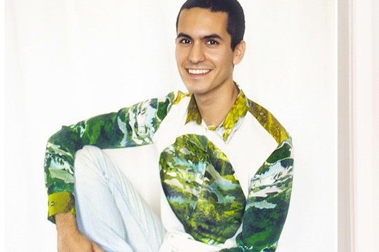 Fashion Line Blooms With Images Of Digitally Screen-Printed Greenery