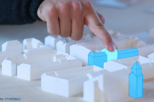New Augmented Reality Prototype Can Make Any Object A Touch-Sensitive Visual Display