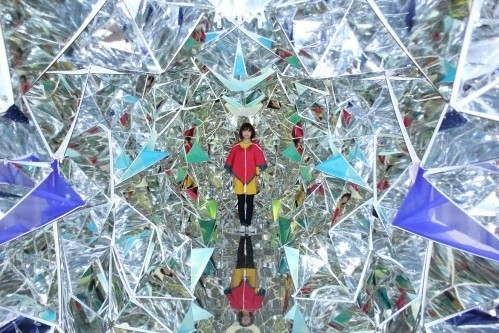 Artists Construct Giant Kaleidoscope Inside Japanese Shipping Container