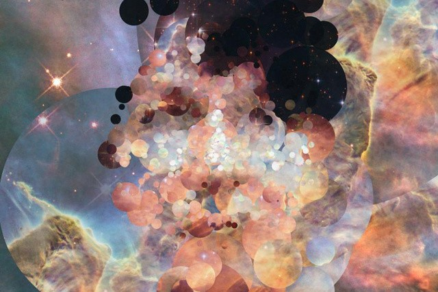 Computer-Generated Portraits Created From Images Of The Universe