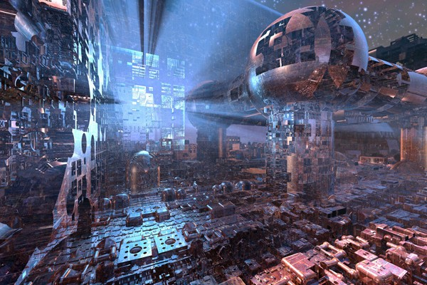 Inside The Infinite 3D Beauty Of Sci-Fi Fractal Landscapes