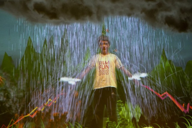 Interactive Installation Gives Kids Weather-Controlling Superpowers