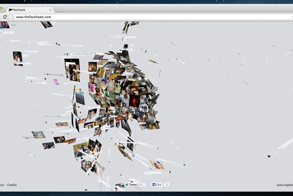Awesome Interactive Music Video Turns Your Facebook Profile Into An Animated Hawk