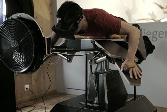 """""""Birdly"""" Augmented Reality Machine Lets You Fly Like A Bird"""
