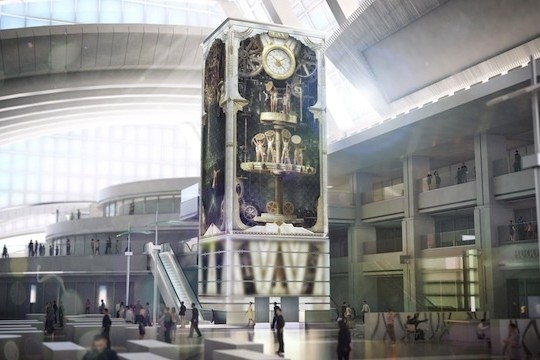 Moment Factory Create A Massive Interactive Art Installation For LAX