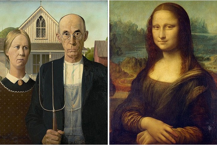 Watch The 'Mona Lisa' Morph Into 'American Gothic,' Pixel By Pixel