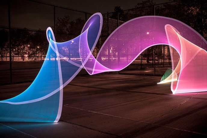 Pixelstick Powers The Next Generation Of Light Painting