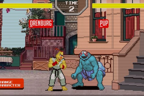 Sesame Street Fighter Is The Logical Fusion Of Two Childhood Favorites