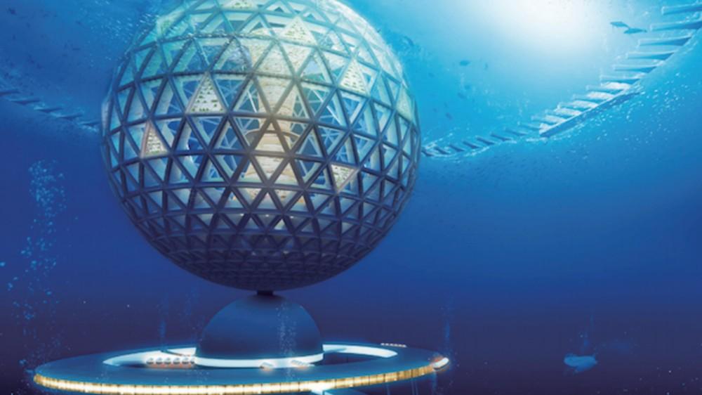 In Japan werden Pläne für die erste Unterwasser-Stadt der Welt geschmiedet
