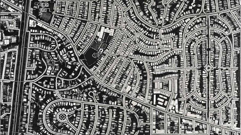Damien Hirst construye ciudades con imperdibles y bisturís
