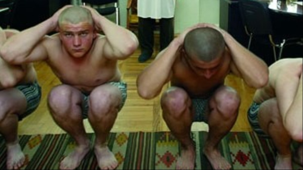Gay army men legs movie tickle for evan 8