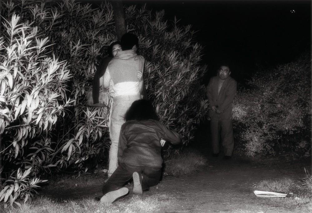 Night park sex