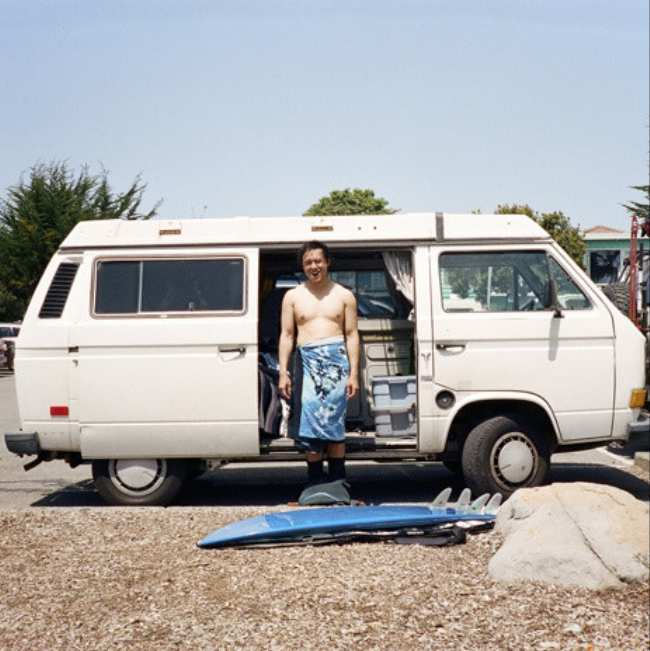 Living In A Van >> How Foster Huntington Started Living In A Van Vice