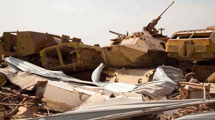 Stepping Lightly in Afghanistan's Soviet Tank Graveyard