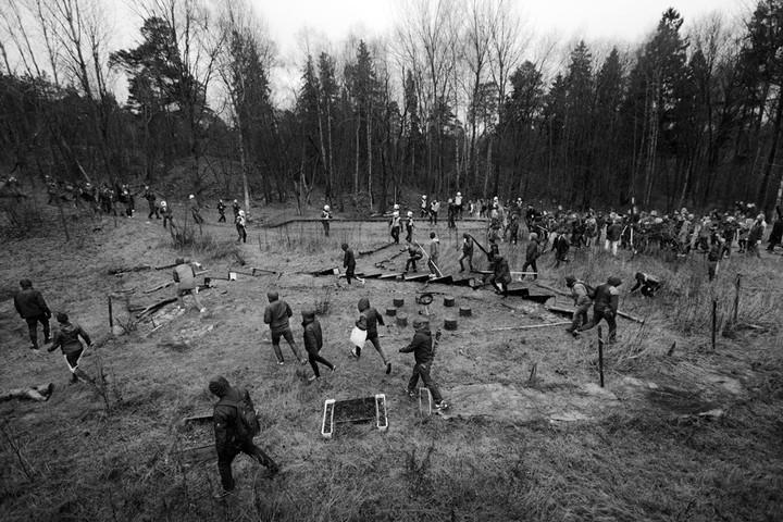Une baston entre néonazis et antiracistes dans une forêt suédoise