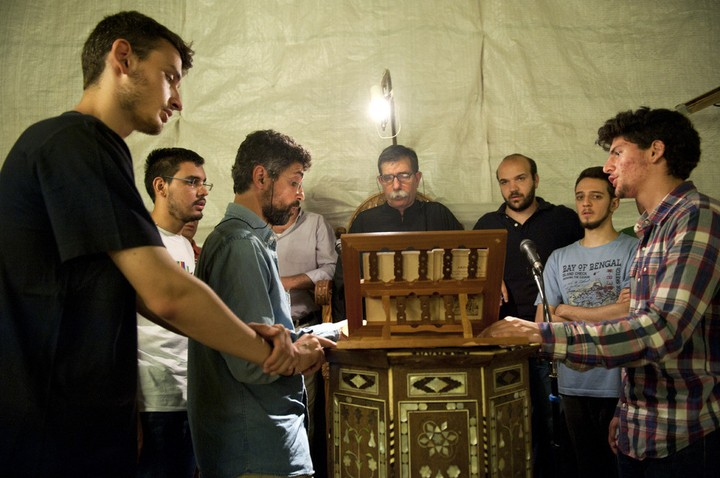 Some Greeks Stayed Up All Night Praying Against Gay Pride Last Week