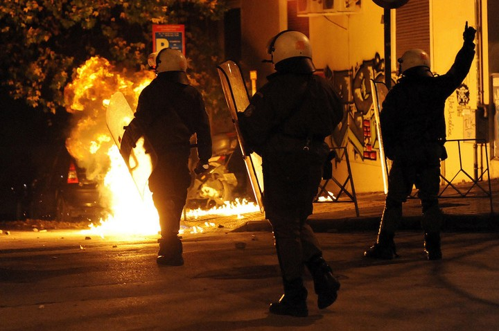 Greece Was Taken Over by Rioting Again This Weekend