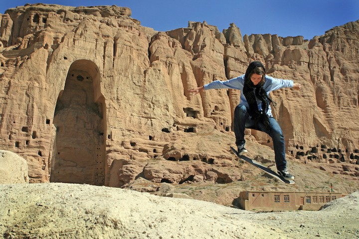 Skateboarding Makes Afghan Girls Feel Free