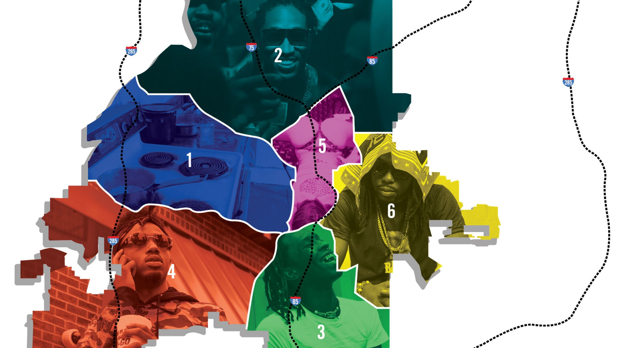 KNOWN ZONES - The Noisey Guide to ATL's Trap Map - VICE on