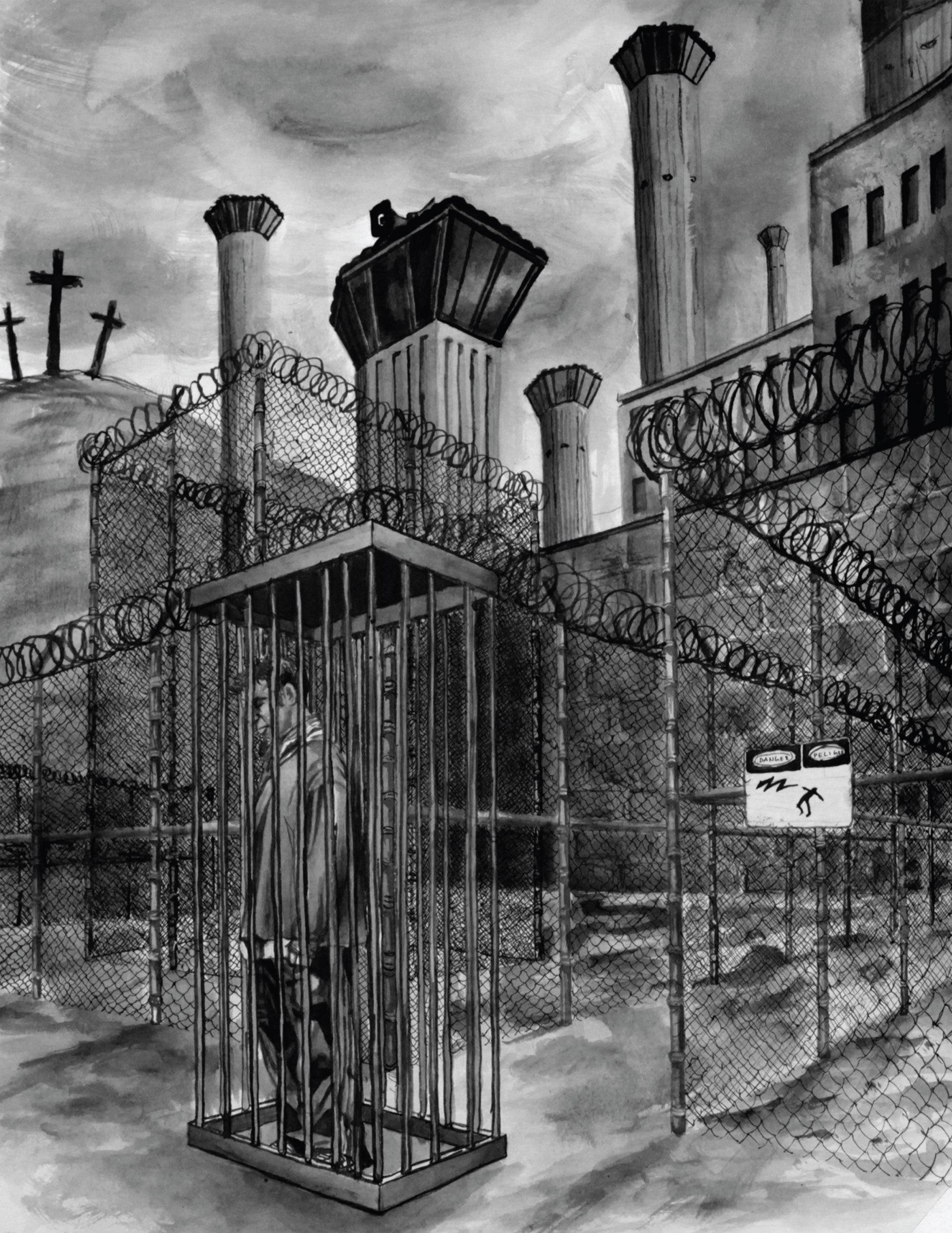 Gevangen door een zwarte pik
