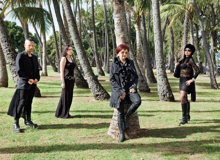 Incredible Photos of Hawaii's Dwindling Goth Population