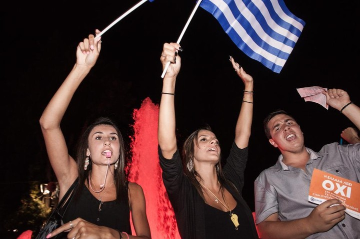 We Partied with Defiant Greek 'No' Voters Last Night in the Streets of Athens