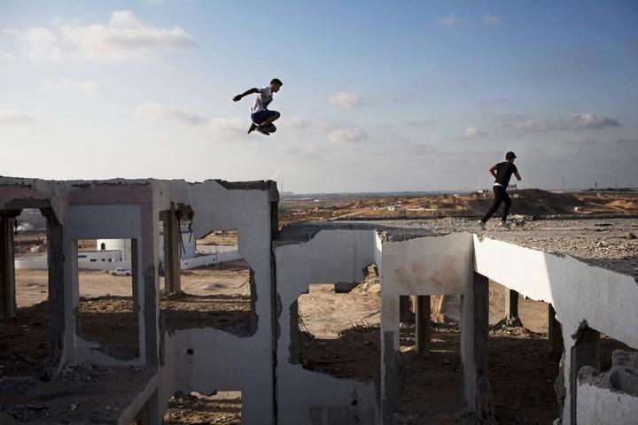 Photos of Gaza's Parkour Teens
