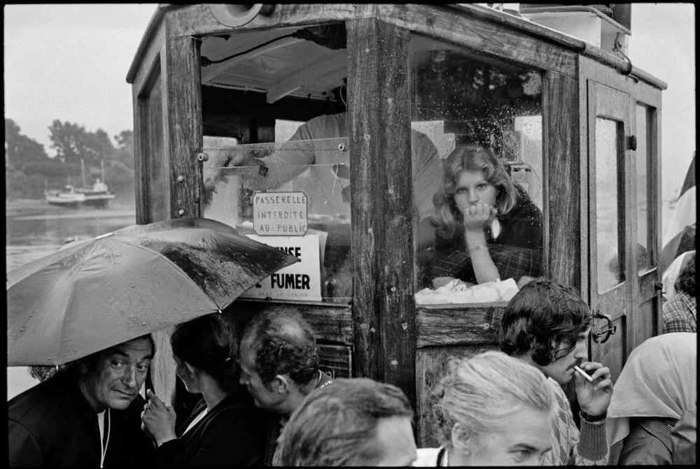 Бретань, Франция, 1975. Фотограф Ги Ле Керрек