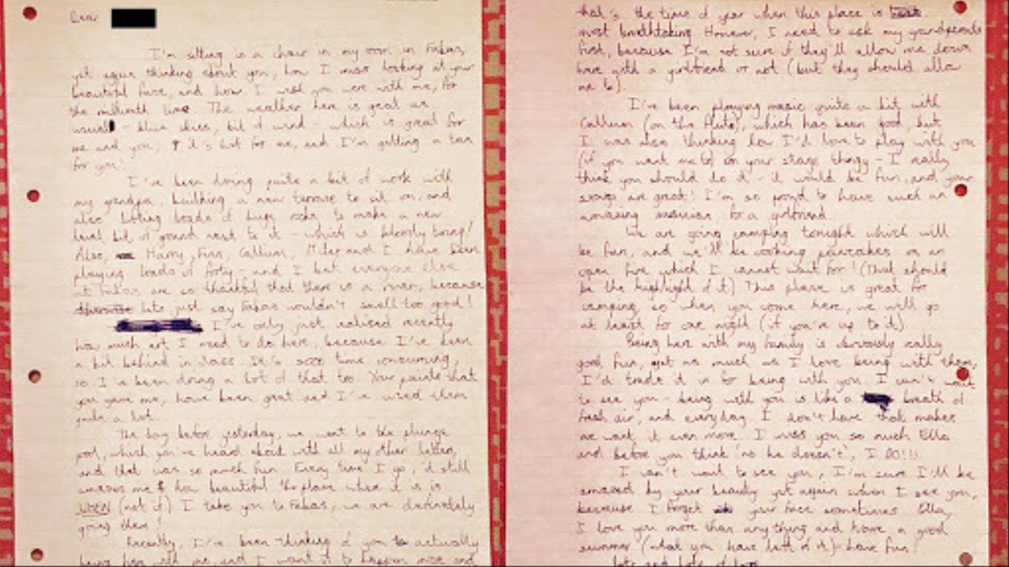 Love Letter To Your Wife.People Show Us Their Old Love Letters Vice