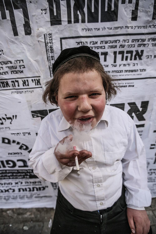 Kids in Jerusalem Celebrated Purim by Smoking Tons of ...