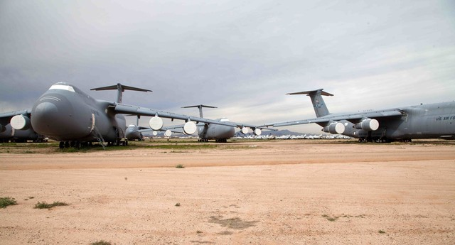 This Scrapyard Contains the World's Second-Largest Air Force - VICE