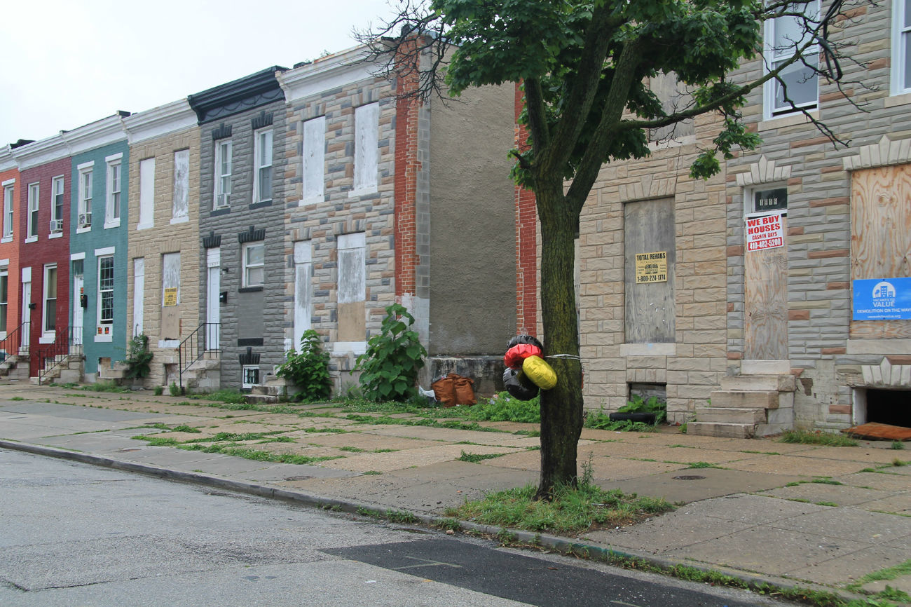 Here Are Some of Baltimore\'s Many May Murder Scenes - VICE