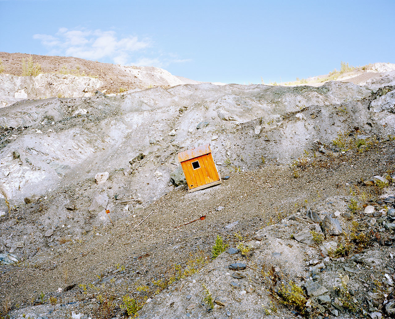 Asbestos Mining In Us : Photos of a former asbestos mining town that s lost its