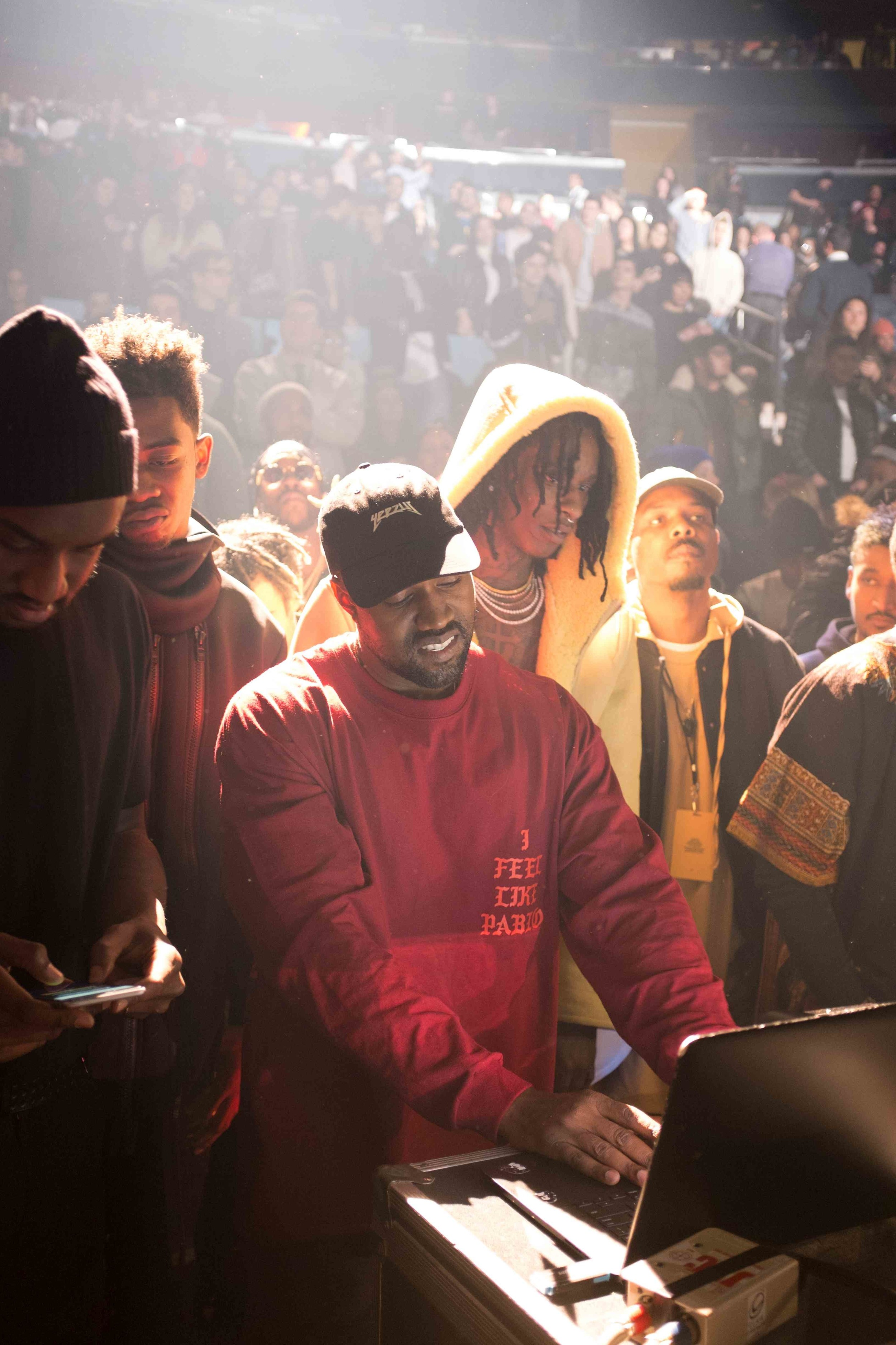 8ebd0f11e04559 Backstage Photos from Kanye s Massive Fashion Show - VICE